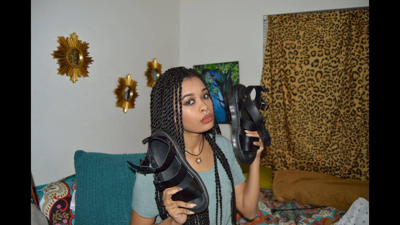 c155c7a6a49 Dr. Martens Gryphon Strap Sandals review - YouTube