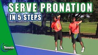 TENNIS SERVE: 5 Powerful Tips to Master Serve Pronation