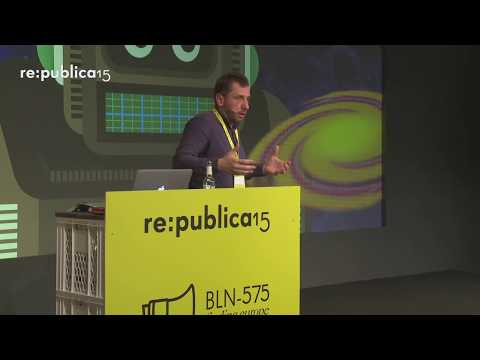 re:publica 2015 – Danko Nikolic: AI-kindergarten: Building biological-like artificial intelligence on YouTube