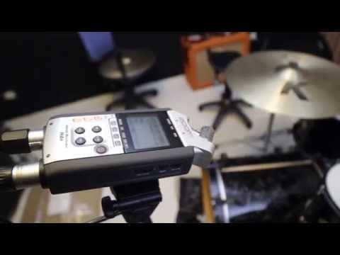 Recording on a Budget: 4 Channel Drums on the Zoom H4n