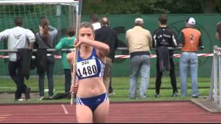 Stabhochsprung 13-Jährige Schülerin Samantha Lauter springt württembergischen Rekord mit 3,38m