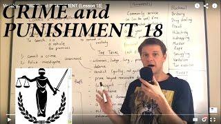 Vocabulary CRIME and PUNISHMENT (Lesson 18)