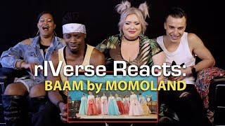 rIVerse Reacts: BAAM by MOMOLAND - M/V Reaction