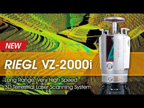 The new RIEGL VZ-2000i Ultimate Mining Scanner