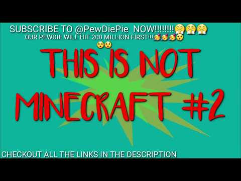 I MADE MY UNDERGROUND HOUSE (THIS IS NOT MINECRAFT #2) - YouTube