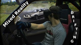 🚕💨 Drifting in Mixed Reality - Assetto Corsa - Oculus Rift CV1