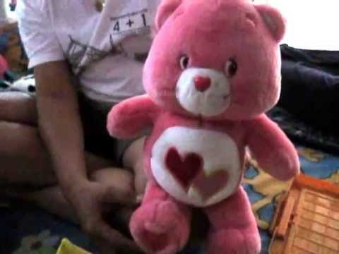 Care bear~Talking and Singing Love-A-Lot Bear
