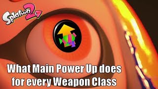 Splatoon 2 - What Main Power Up Does for Every Weapon