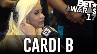 Cardi B in The BET Awards Radio Room w/ Dj A-Oh