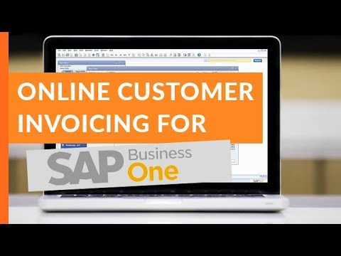 Customer invoicing and bill pay for sap business one youtube customer invoicing and bill pay for sap business one century business solutions reheart Images