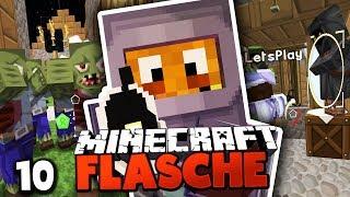 Das GESAMTE DORF WIRD GEPLÜNDERT! & AUSBAU UNSERER BASIS ☆ Minecraft FLASCHE #10