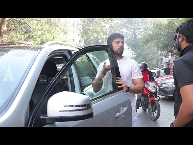 Saqib Saleem Spotted At Bandra Gym
