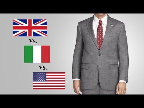 British Vs. Italian Vs. American  - Suit Fashions & Silhouettes