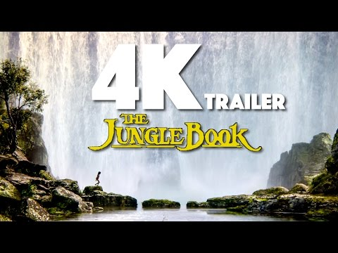 The Jungle Book Official 4k Trailer (2016) Scarlett Johansson, Ultra HD
