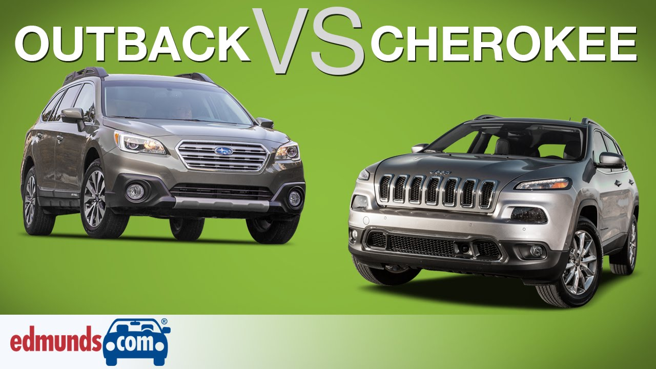Subaru Outback Vs Jeep Cherokee Off Road Wagon Takes On An Suv You