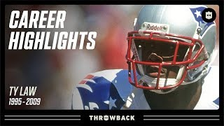 "Ty Law's ""Big Game Performer"" Career Highlights! 