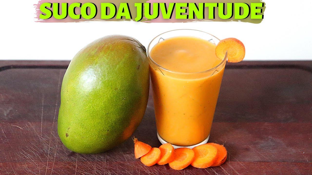 Suco De Cenoura Mantém a Juventude Melhora Pele, Cabelo e Joelho