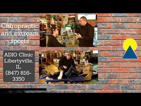 Chiropractic and extreme sports at Asylum Skate Park