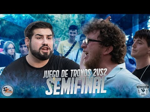 AKRES & GUILLEFLOW vs KAVRON & SOBE Semifinal Juego de Tronos 2vs2