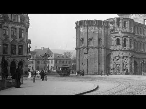 Trier - damals und heute