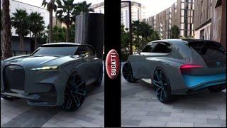 New Bugatti SUV Concept W16 1500HP first look