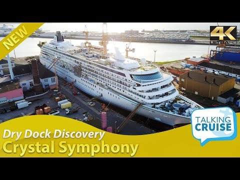 Dry Dock Discovery – Crystal Symphony Luxury Cruise Ship