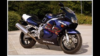 "1999 Honda CBR900rr ""FireBlade"" walk around & start up.  STUNNING LOW MILEAGE EXAMPLE"