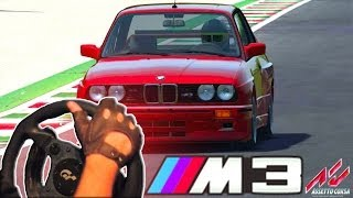Assetto Corsa - BMW M3 E30 drifting Challenge (steering wheel gameplay) HD 1080p 2014