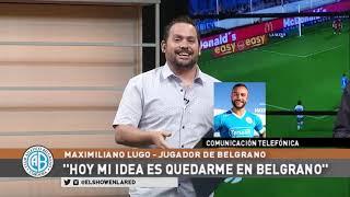Maximiliano Lugo y su relación con Córdoba
