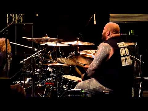 Lockup at Brutal Assault 2010 Drumcam1