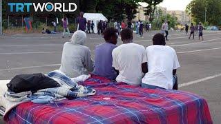 Italy Migrants: Baobab volunteers help migrants in Rome