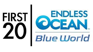 Endless Ocean: Blue World - First20 (w/Mal)