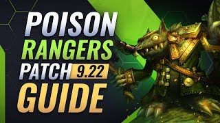 The ONLY Poison Rangers Guide You NEED - Teamfight Tactics Patch 9.22