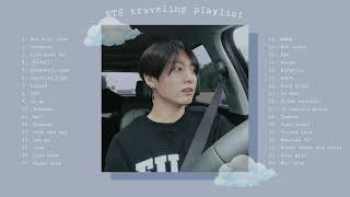 [NO ADS!] BTS travel playlist (chill, traveling, driving)