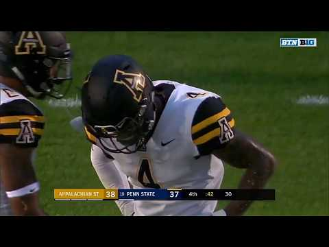 Highlights: Appalachian State Mountaineers vs. Penn State Nittany Lions | Big Ten Football