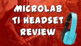 Microlab T1 Bluetooth 4.0 Headset Review