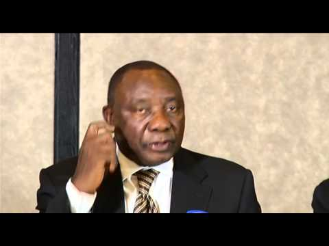 SADC Facilitator, Deputy President Cyril Ramaphosa in Lesotho