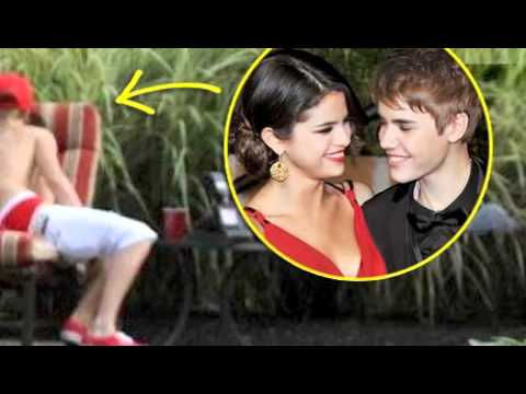 Justin bieber and selena gomez kissing was and