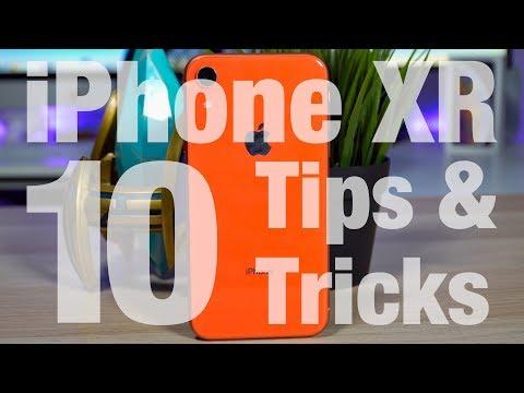 iPhone XR - 10 TIPS & TRICKS!