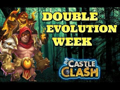 Castle Clash Double Evolution Week! Devo Grimfiend!