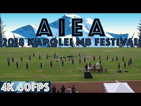 "SUSUMU | 2018 Aiea HS ""Na Ali'i"" Marching Band | 2018 Kapolei MB Festival"