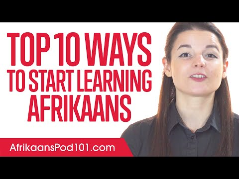 Top 10 Ways to Start Learning Afrikaans