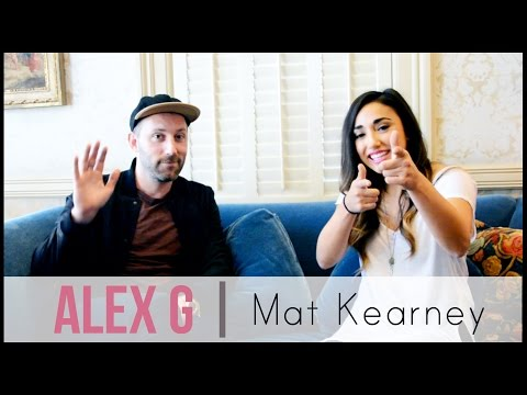 Alex G | Mat Kearney Interview (Live In The Vineyard 2014)