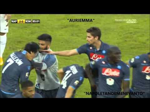 """Napoli-Roma 2-0 Commento di """"Auriemma e Zampa"""""""