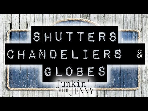 Shutters, Chandeliers & Globes | DIY & Home Design Ideas