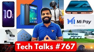 tech talks 767 pubg missing redmi go mi pay oneplus 7 huawei patents iphone made in india