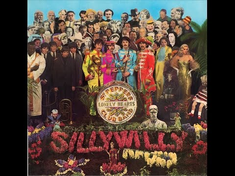 Sgt. Pepper's Lonely Hearts Club Band. Full album cover by Silly Willy and Stein