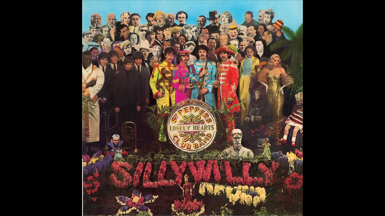 Image result for sgt. pepper's lonely hearts club band