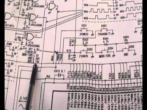 ICOM IC-756 HAM Radio Repair M0XFX Part 1 of 2