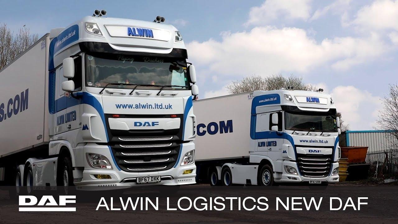 DAF Trucks UK   Alwin Logistics   New XF 7.2% Fuel Saving